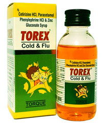 TOREX COLD AND FLU SYRUP