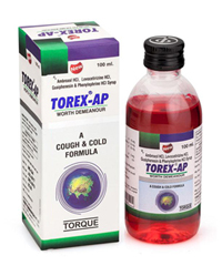 NEW TOREX-AP COUGH SYRUP