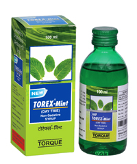NEW TOREX MINT COUGH SYRUP