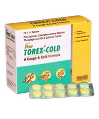 TOREX COLD TABLETS